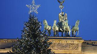 Рождественская ёлка в Берлине