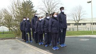 Les élèves de l'Epide de Margny-Lès-Compiègne