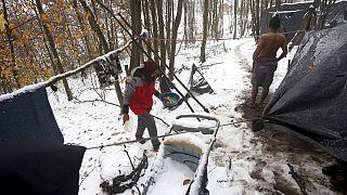 Flüchtlinge bei Velika Kladusa