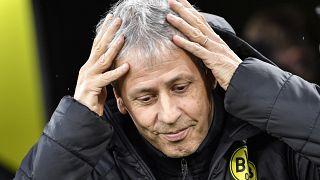 Archivfoto von BVB-Trainer Lucien Favre