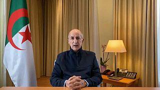 Abelmadjid Tebboune, le président algérien, le 13 décembre 2020