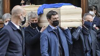 مراسم تشییع پائولو روسی
