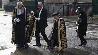 صورة من الارشيف- كبار القضاة في بريطانيا