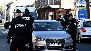 Polizei an der Grenze (ARCHIV)