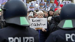 Protest gegen Corona-Regeln in Berlin am 18. November 2020