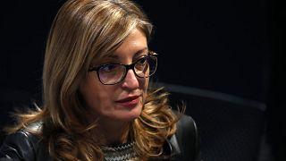 министр иностранных дел Болгарии Екатерина Захариева