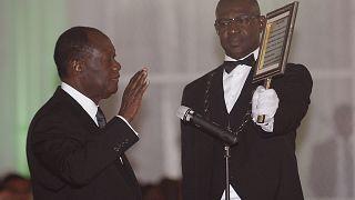 Alassane Ouattara prête serment pour son 3e mandat