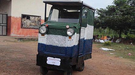 """""""Imagination Car"""" : la voiture recyclée solaire [Inspire Africa]"""