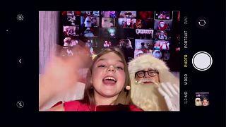 Selfie mit Santa