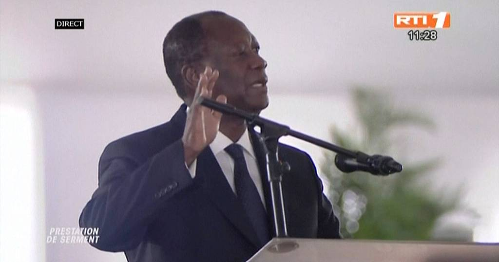 Ivory Coast: Allassane Ouattara sworn in for 3rd term