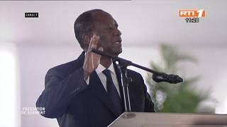 Ivory Coast: Allassane Ouattara sworn in for 3rd term