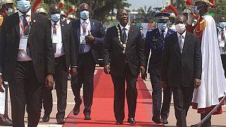 Alassane Ouattara entame son troisième mandat