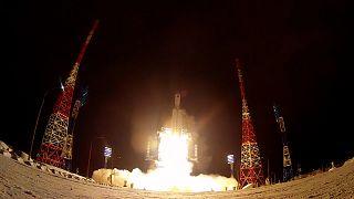 Launch of Angara-A5 rocket