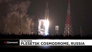 """شاهد: روسيا تطلق بنجاح صاروخها من الجيل الجديد """"أنغارا"""""""