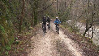 """Ederbidea: un """"camino hermoso"""" de 240 kilómetros en bicicleta"""