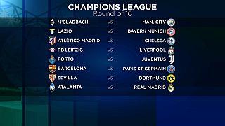 Gli ottavi di finale di Champions League