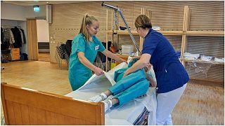 أحد المستشفيات السويدية