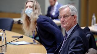 European Union's negotiator Michel Barnier attends a meeting of the Committee of the Permanent Representatives of the Governments of the Member States