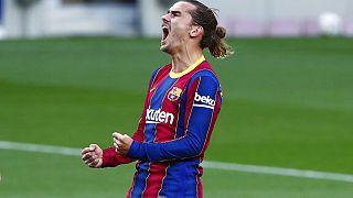 Barcelona'nın Fransız oyuncusu Antoine Griezmann