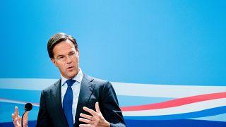 Archives : le Premier ministre néerlandais, Mark Rutte, le 27 novembre 2020 à La Haye