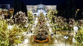 Χριστουγεννιάτικη πλατεία Συντάγματος