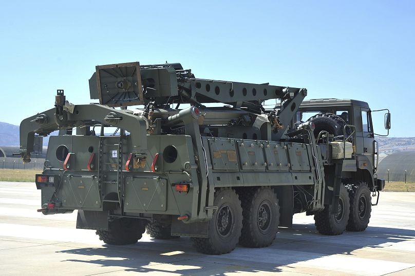 وزارة الدفاع التركية/أ ب