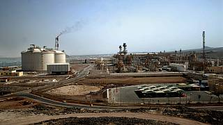 Photo d'archives : l'usine gazière de Balhaf (Yémen), le 05/06/2010