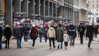 Milánói utcakép