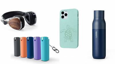 Headphones, hand sanitisers and water bottles - tech gadgets you can give your friends or family for Christmas.