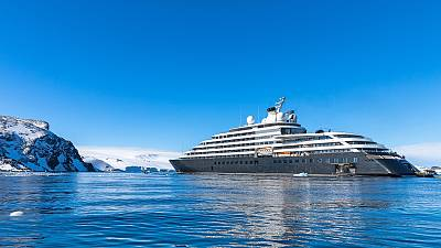 Cruise lines are beginning to blend luxury with authentic travel. Antarctic expedition, Scenic.