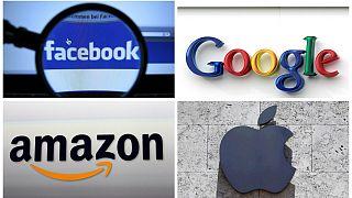 نشان تجاری شرکتهای فیسبوک، آمازون، اپل و گوگل