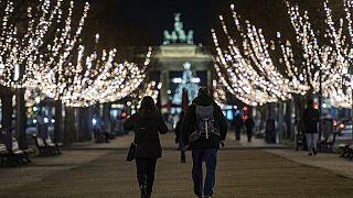 Berlin am Tag vor dem Lockdown