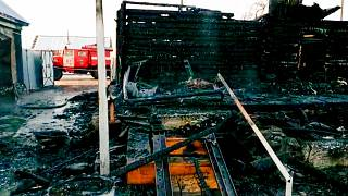 آتشسوزی در یک سرای سالمندان در روسیه
