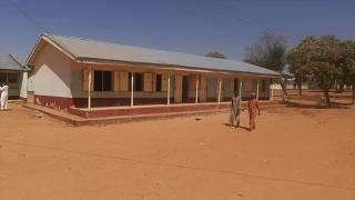 The Government Science Secondary School in Kankara, Nigeria, where hundreds of boys were kidnapped