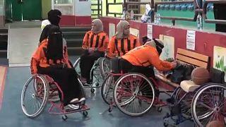 ویدیویی متفاوت از یمن؛ مسابقات بسکتبال ویژه زنان دارای معلولیت در صنعا