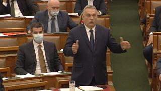 Víktor Orbán, primer ministro de Hungría