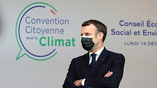 Emmanuel Macron francia államfő
