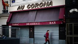 Geschlossenes Bistrot in Paris