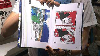 رسوم القط ويليس الكاريكاتورية تلخص تاريخ تونس منذ الثورة