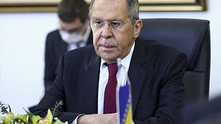 Bojkottálták Lavrovot Boszniában
