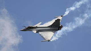 Fransa yapımı Rafale savaş uçağı