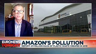 Oceana's Matt Littlejohn says Amazon could use less plastic.