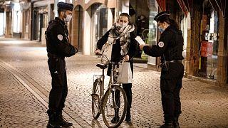 مقررات منع رفت و آمد شبانه در فرانسه
