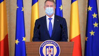 Klaus Iohannis román államfő - Bukarest, 2020. december 14.
