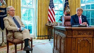 دونالد ترامپ و میج مککانل