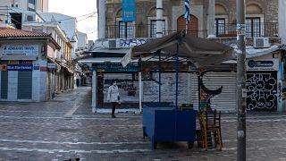 Greece virus outbreak lockdown
