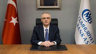 Türkiye Cumhuriyet Merkez Bankası (TCMB) Başkanı Naci Ağbal mevcut görevine 7 Kasım 2020'de başladı.