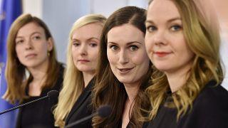 یک سال دولت زنان در فنلاند