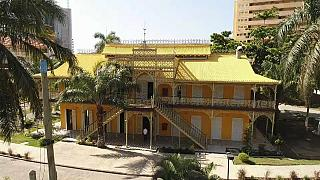 History of Angola's 'Iron Palace' remains a mystery