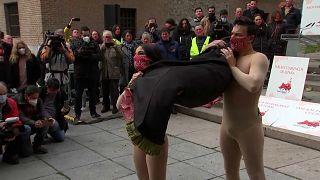 Protesta en Madrid por la situación de los tablaos flamencos